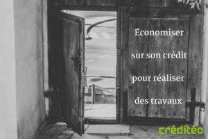Financer ses travaux grâce aux économies sur son crédit immobilier