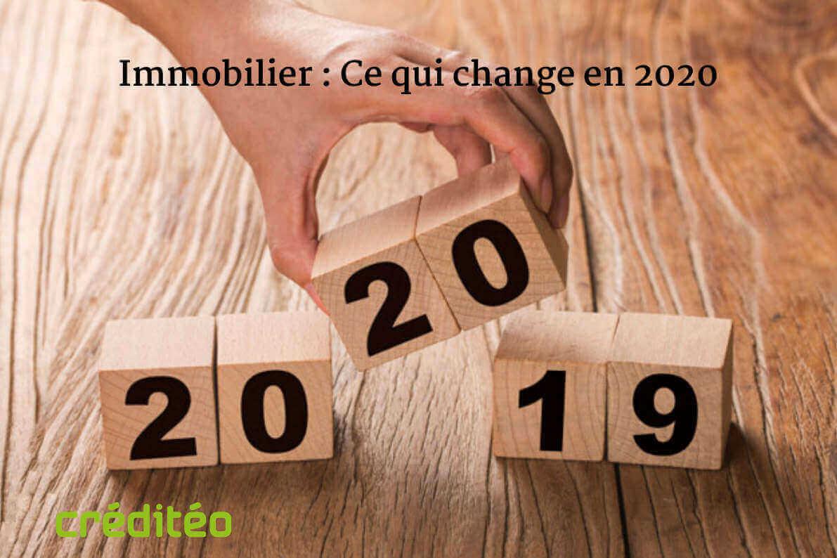 immobilier-changement-2020 : ptz pinel, denormandie, cosse, malraux, cote, eco-ptz